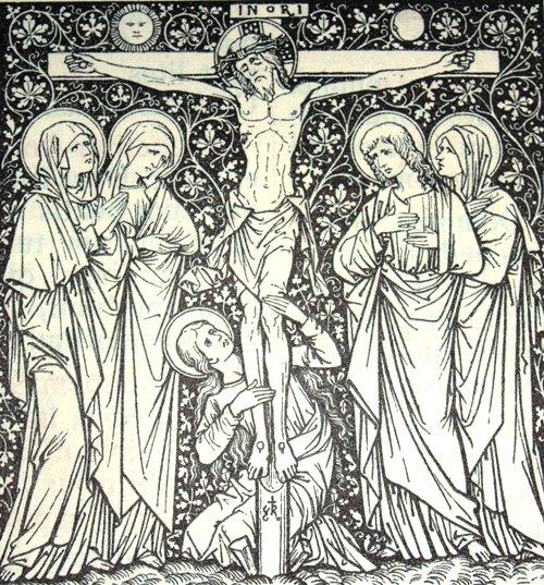Wielki Piątek - Chrystus umiera na krzyżu