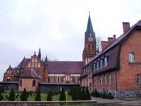 Widok Sanktuarium w Gietrzwałdzie