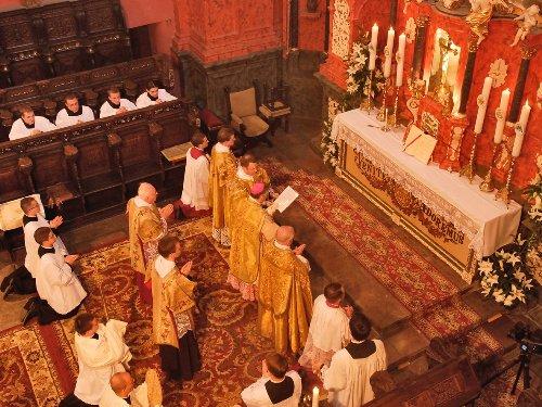Widok prezbiterium