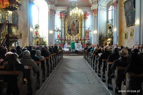 Msza św. śpiewana w Świdnicy