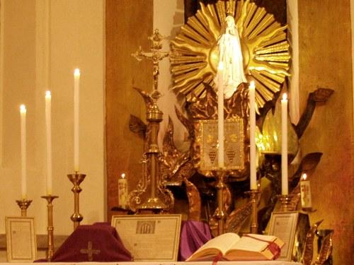 Msza trydencka w kościele Św. Józefa Robotnika w Wałbrzychu