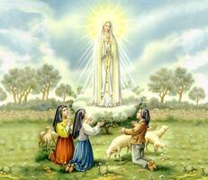 Matka Boża Fatimska i pastuszkowie