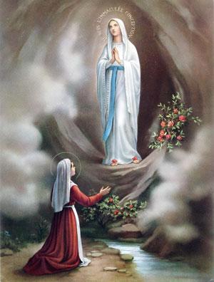 Matka Boża objawia się Bernadecie