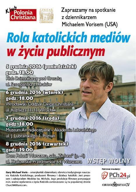 Michael Voris w Polsce