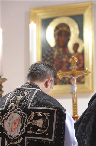 Msza żałobna w Wałbrzychu 2.11.2011