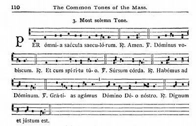 tonus solemnior