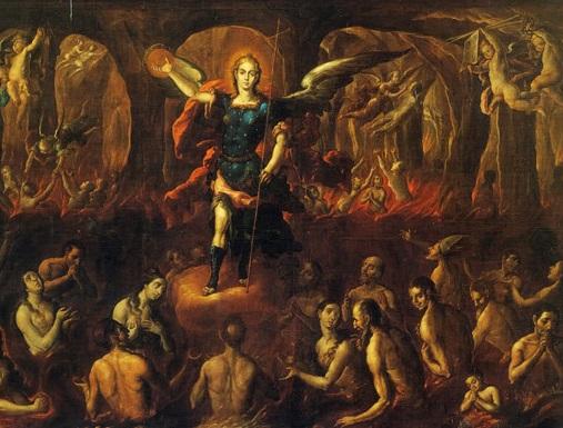 św. Michał w czyśćcu