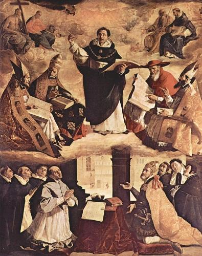 Tryumf św. Tomasza z Akwinu