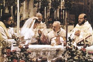 ostatnia komunia św. z rąk o. Pio