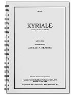 Kyriale - akompaniament na organy