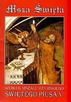 Msza Święta wg mszału św. Piusa V