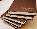 Terminarz tradycyjny A.D. 2013